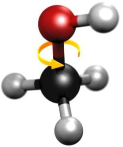 methanol-molecule